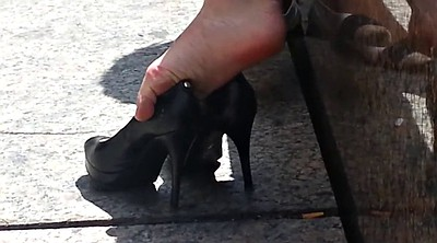 High heels, High heel shoes, Upskirt