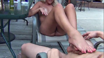Footjob, Pool, Footing