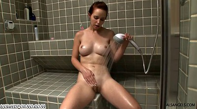 Daughter, Father, Bathing, Spying, Spy masturbating
