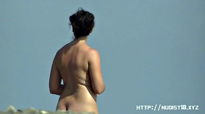 Beach, Nudist, Sun