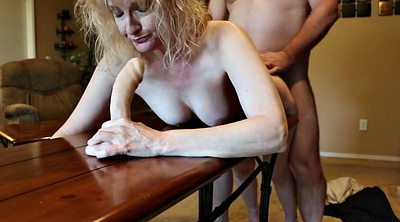 Housewife, Mature spanking