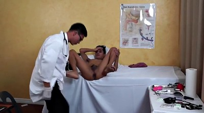 Asian gay, Asian skinny, Gay doctor, Lie, In my ass, Doctor anal