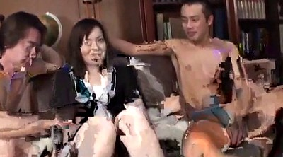 Wife, Japanese wife, Japanese group, Wife creampie