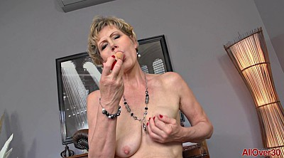 Mature finger solo, Granny solo, Stockings solo, Saggy mature