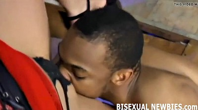 Femdom threesome, First time gay
