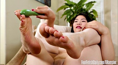 Foot, Asian foot, Asian feet, Asian foot fetish, Asian masturbation