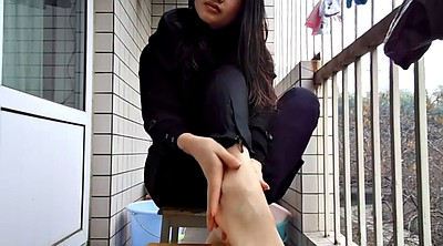 Asian, Chinese foot, Chinese teen, Chinese feet, Chinese fetish, Asian foot
