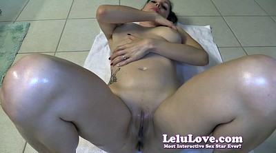Lelu love, Oiled, Oil handjob, Milking handjob