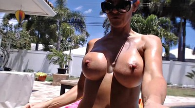 Webcam mature, Pool, Mature webcam