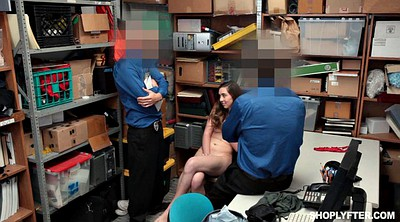 Police, Thief, Brutal threesome, Brutal blowjob, Teen brutal, Brutally