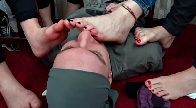 Forced, Force, Teen feet, Smell feet
