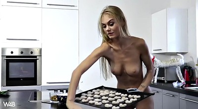 Kitchen, Nude, Public pussy