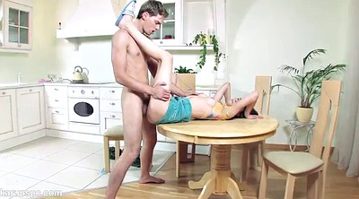 Kitchen, Deep throat, Couple