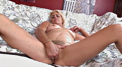 Mature casting, Hairy mature masturbation