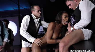 Club, Nadia, Group creampie