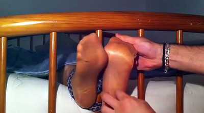 Tickling, Tickle, Nylon feet, Tickled, Tickle feet
