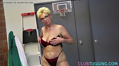 Stripping, Granny handjob, Big tits mature, Granny pov, Granny masturbating, Busty masturbation