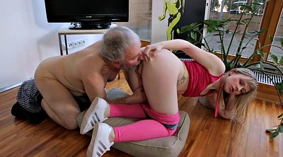 Teen young, Old and young, Granny tits