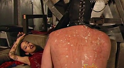 Femdom whipping, Lick boots, Whipping