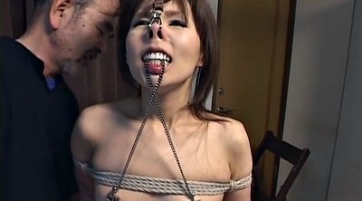 Nipple, Japanese bdsm, Nose, Japanese young, Old japanese, Japanese old