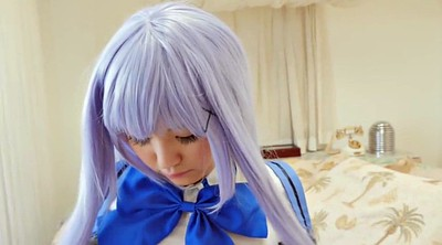 Japanese cosplay, Blue hair