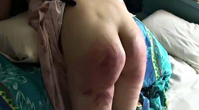 Japanese bdsm, Caning, Caned