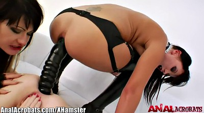 Latex anal, Leather, Lesbian anal, Gaping, Anal latex