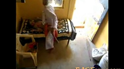 Asian granny, Indian maid