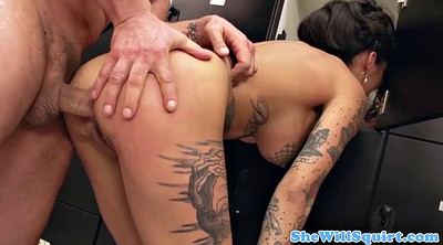 Throat fuck, Tattoo anal