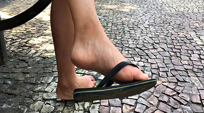 Flat, Asian feet, Asian foot fetish, Candid foot, Candid feet, Candid