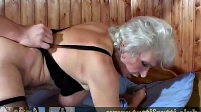 Hairy mature, Hairy granny, Young slut