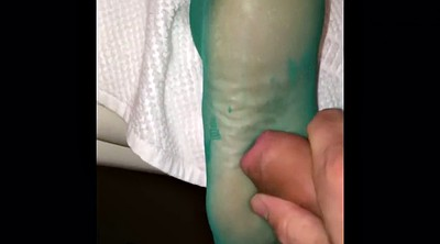 Nylon feet, Stock, Foot job, Job, Gay foot, Stocking foot