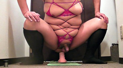 Milking, Prostate, Riding dildo