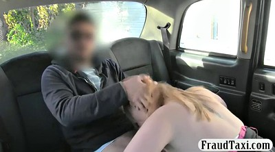 Car, Cab, Big natural tits