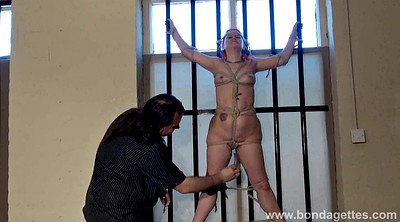 Prison, Prisoner, Tie, Tied up, Redhead bdsm