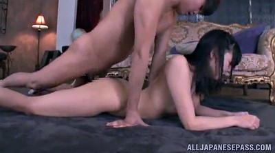 Asian cumshot, Hand job, Panty job, Double pussy