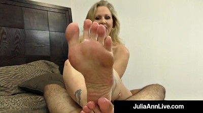 Julia ann, Foot, Julia, Mature feet