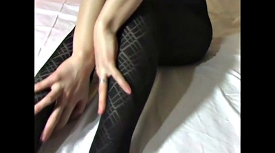 Japan, Nylon, Japan mature, Nylon masturbation, Japanese nylon, Japanes mature