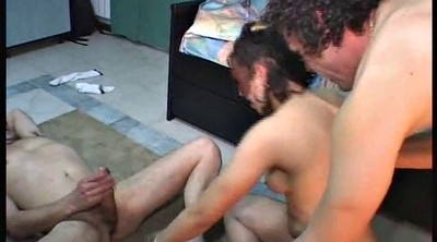 Double anal, Hairy anal