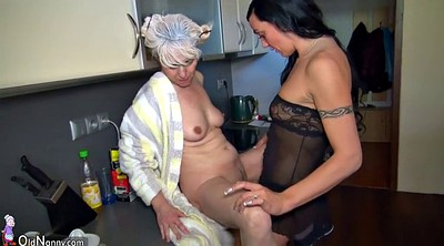 Mom lesbian, Old mom, Mature compilation