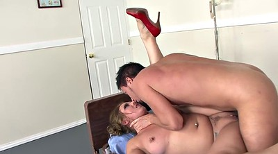 Doctor, Hot milf, Red