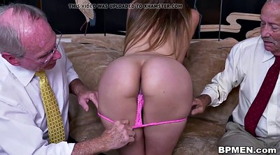 Old, Ivy, Young student, Old grandpa, Tit sucking, Grandpa fuck
