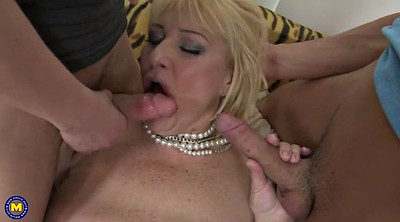 Mother son, Two old, Two milf, Mature son