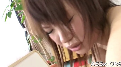 Japanese anal toy, Asian blowjob