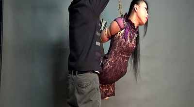 Chinese bondage, Asian bdsm, Hanging, Chinese beautiful