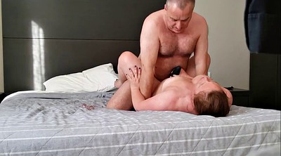 Mature couple, Wife creampie