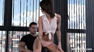 Tattoo, Spank anal, French creampie