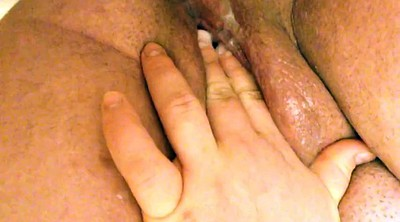 Creampie, Wife masturbating