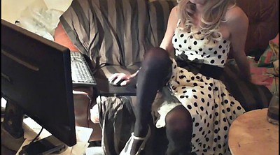 Mature solo, Crossdressers, Dressed