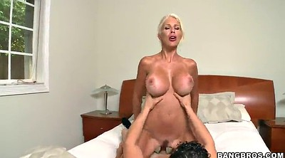 Reality show, Busty doggy, Busty blowjob